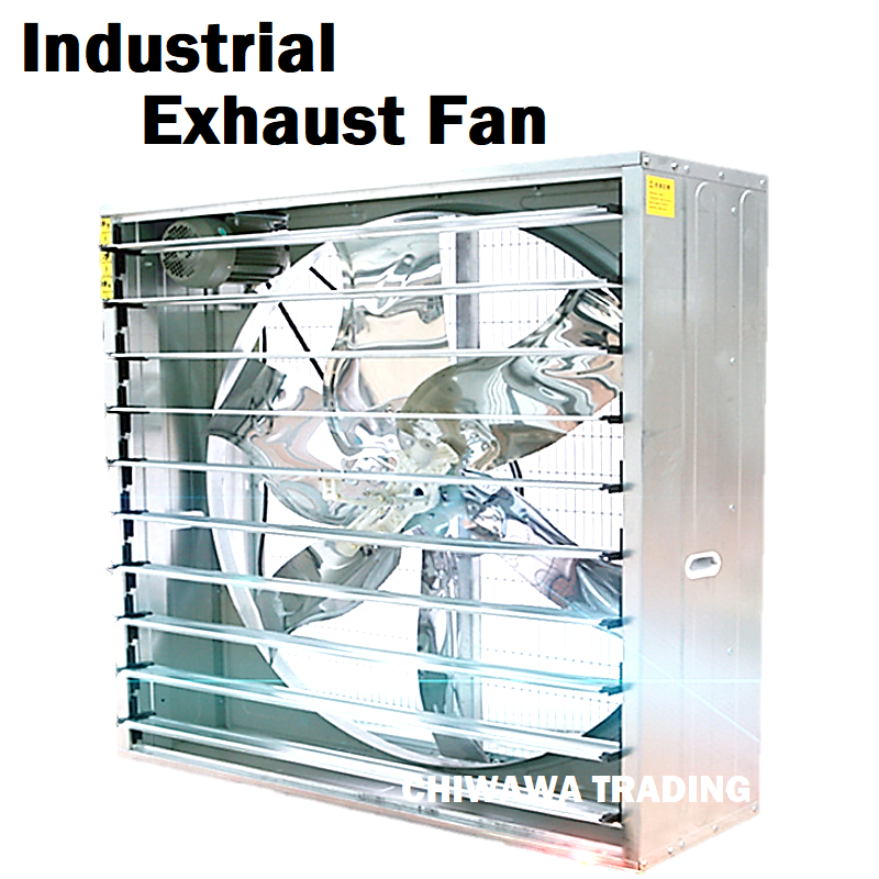 "THREE Phase Power 90CM Exhaust Fan (35"") 35 Inch Wall Mount Industrial Heavy Duty Ventilator Ventilation Air Extractor"