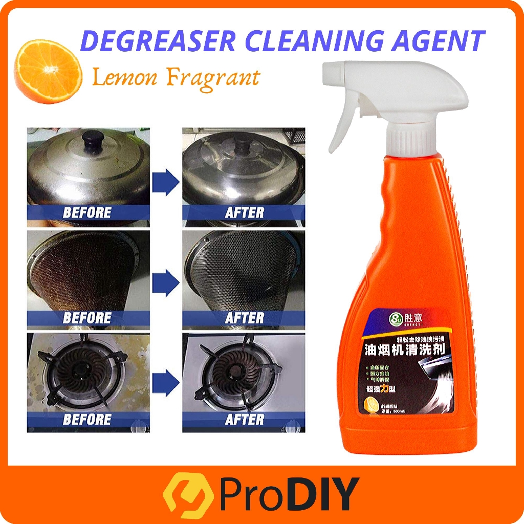 Cooking Grease Spray Kitchen Degreasing Hood Cleaner Quick Acting Cleaning Agent Removes The Toughest Dirt For Kitchen Shopee Malaysia