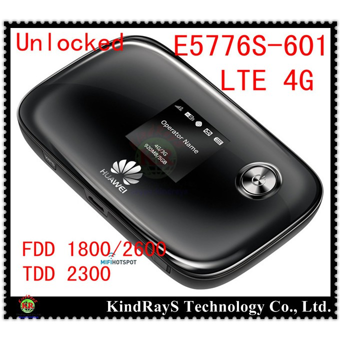 Unlocked HUAWEI E5776 E5776S-601 4g mifi wireless Router 4G LTE Mobile  Hotspot 4g dongle LTE FDD 1800/2600MHz TDD 2300