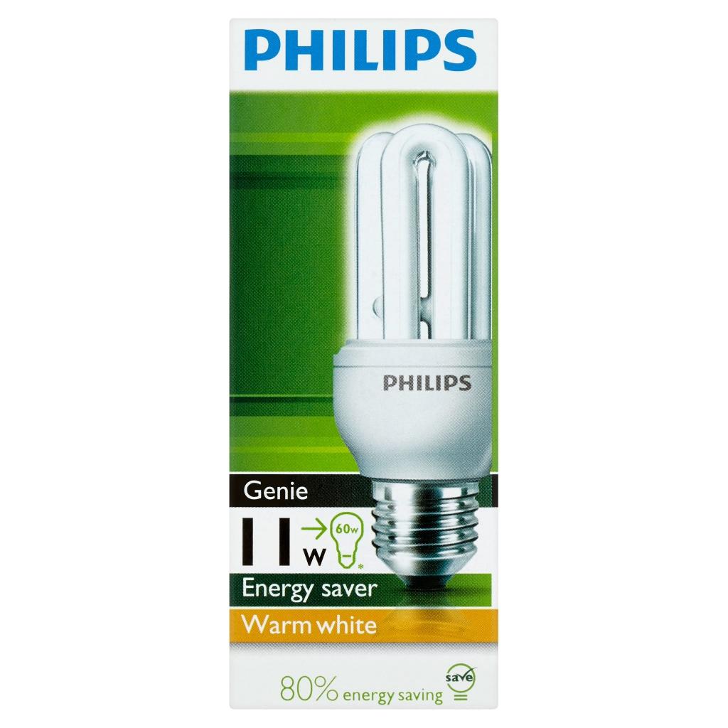 Philips Genie Energy Saver Warm White Bulb 11W