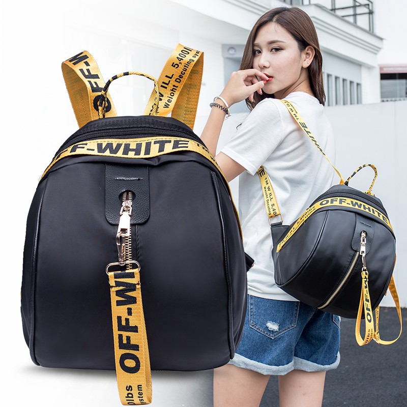 df0c51fa48 Backpack Korean version of the tide fashion 2018 new Oxford cloth mini  college wind student personality wild small backp