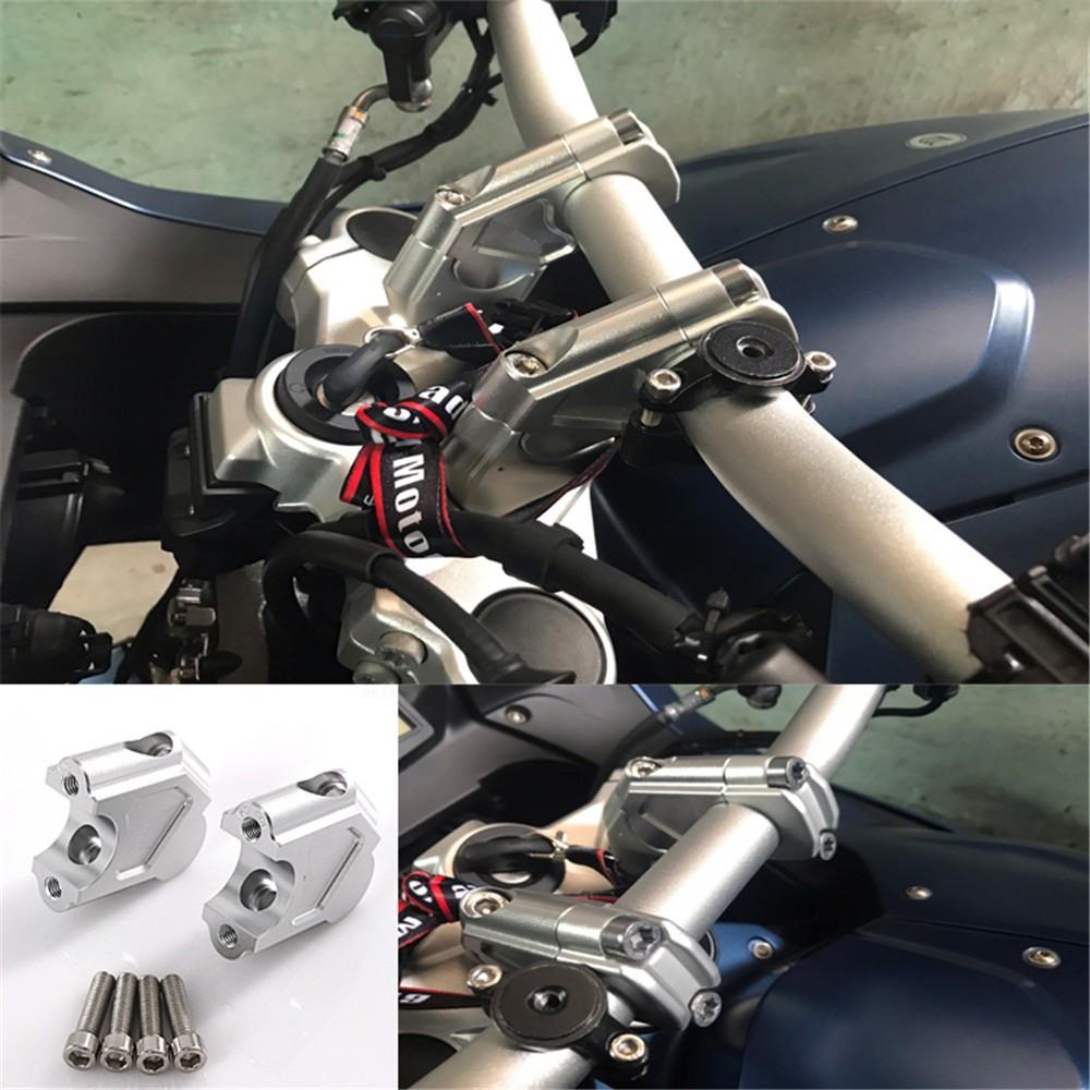 Aluminum Handle Fat Bar Mount Clamp Riser For Yamaha FZ09 2014 2015 2016 2017