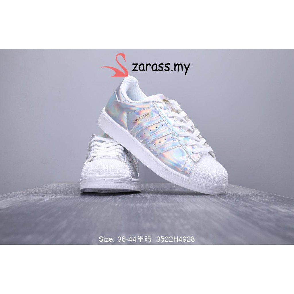 newest 820b7 dd66e   ADIDAS SUPERSTAR shell head shoes laser limited   Shopee Malaysia