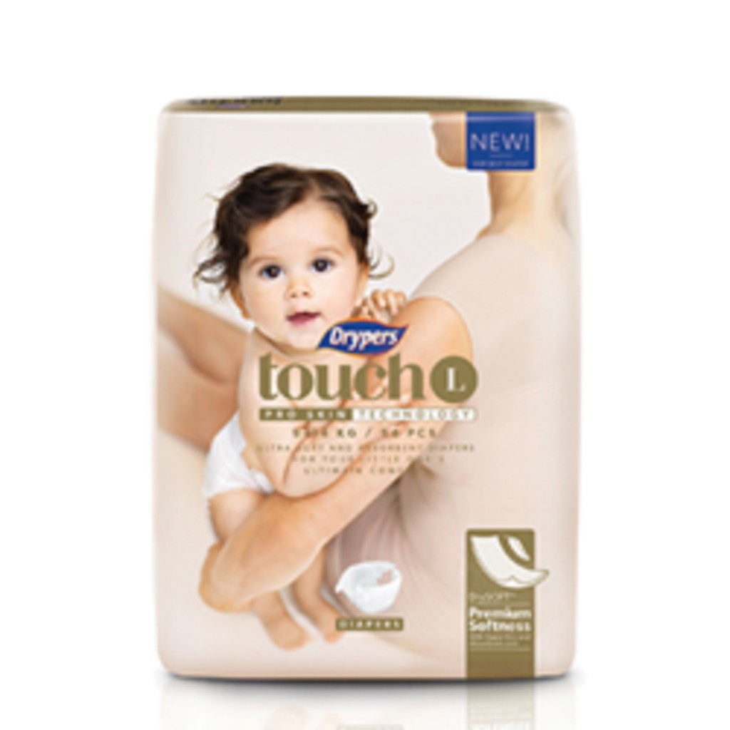 Drypers Touch Diapers L54