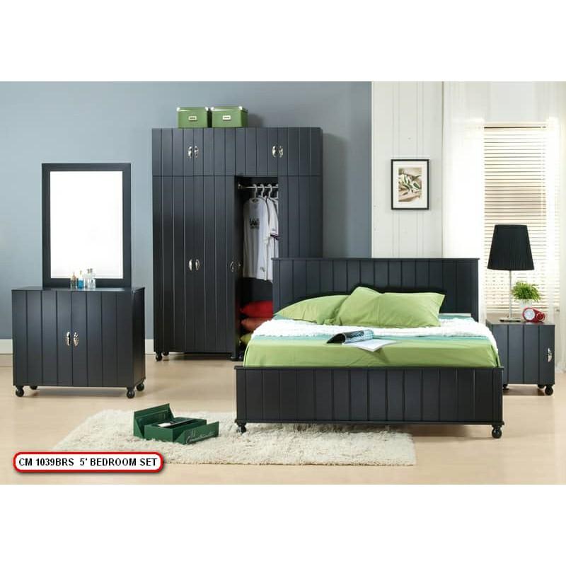 Bedroom Set 5 Pcs White Bilik