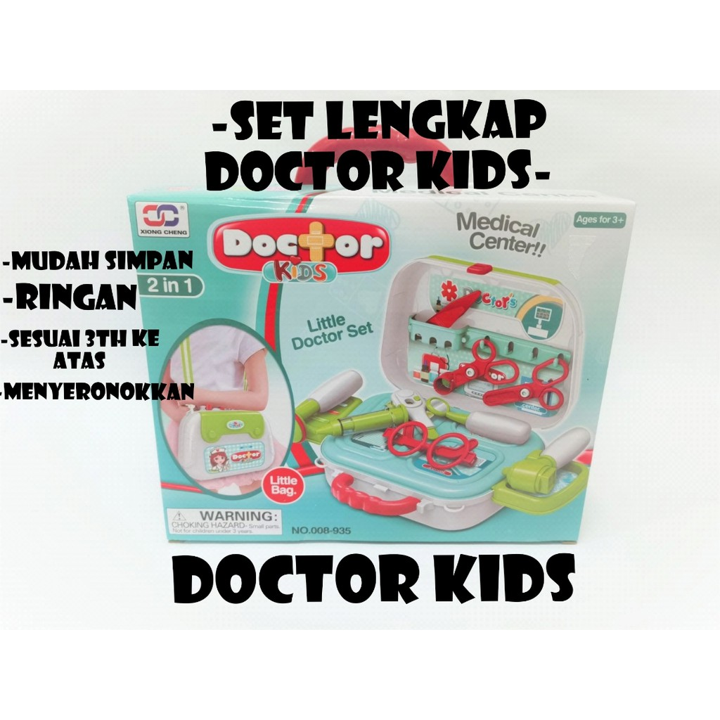 Hot Sale Permainan Yang Paling Sesuai Dan Selamat Untuk Anak Anda Mudah Di Simpan Doctor Kids Beauty Fashion Shopee Malaysia
