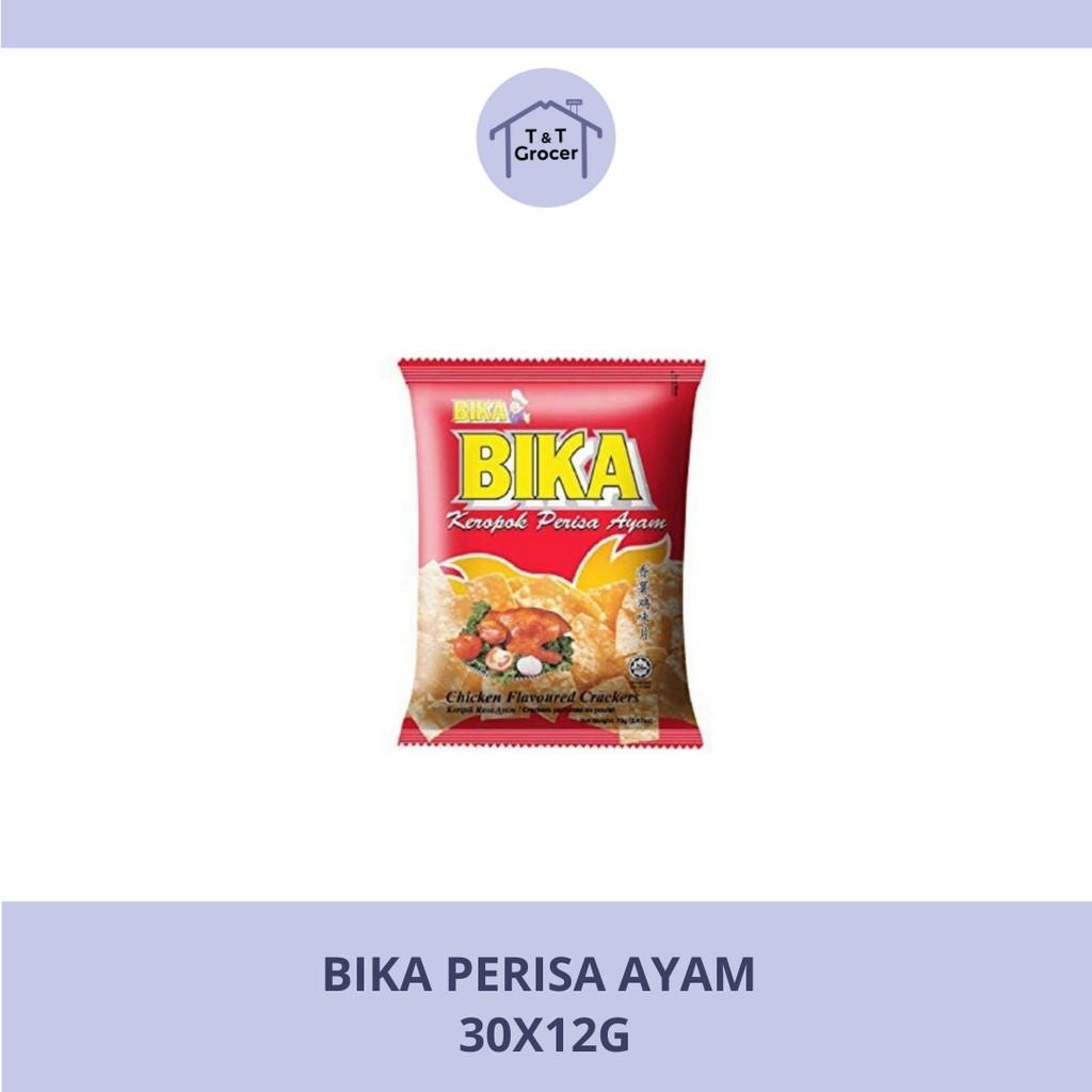 Bika Chicken Snack (Red Packet) 30 x 12g