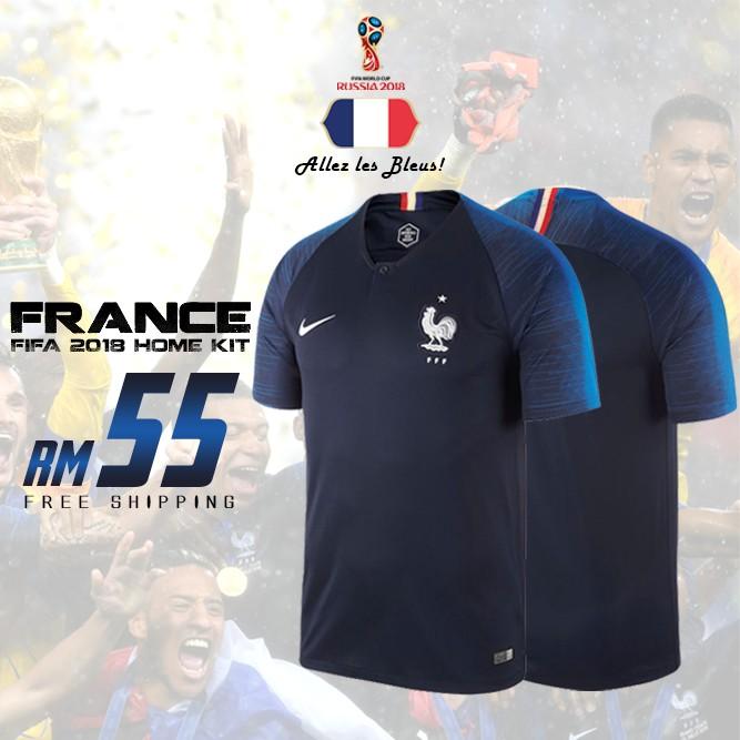pretty nice 9c0e4 c8dfe France FIFA World Cup 2018 Home Kit