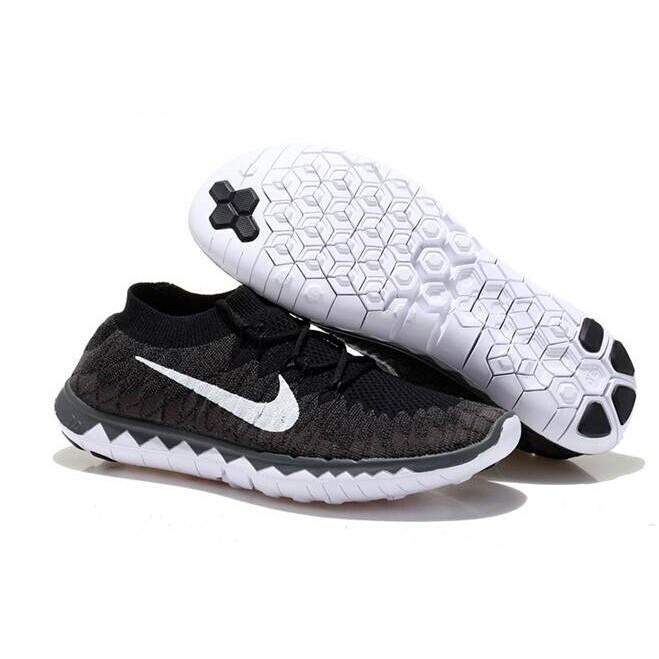 classic fit fb80a b3985 Nike Free Flyknit 3.0 Black Midnight Fog   Shopee Malaysia
