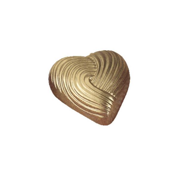MARTELLATO, Chocolate Mould, Valentine, Heart Stripe