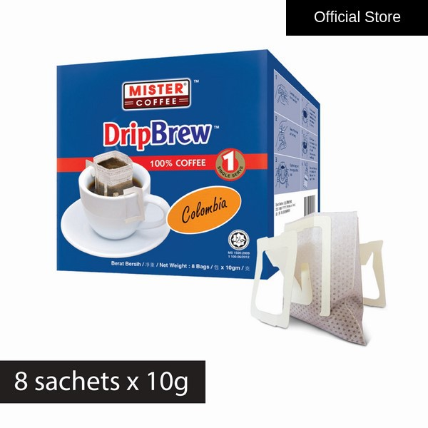 [Mister Coffee] DripBrew™ Colombia (8 sachets)