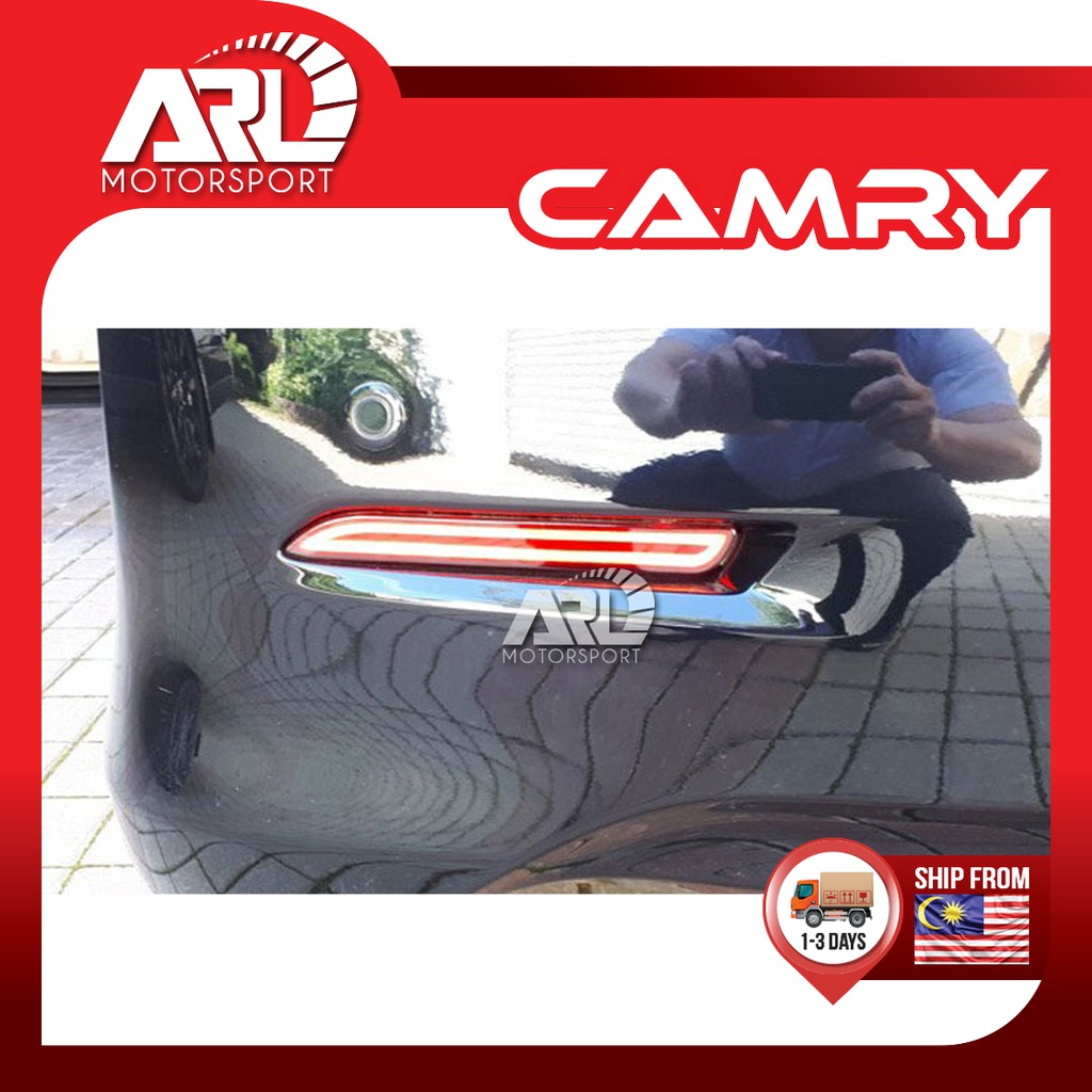 Toyota Camry (2006 - 2011) XV40 Rear Bumper Rear Reflector Lamp LED Lamp Car Auto Acccessories ARL Motorsport