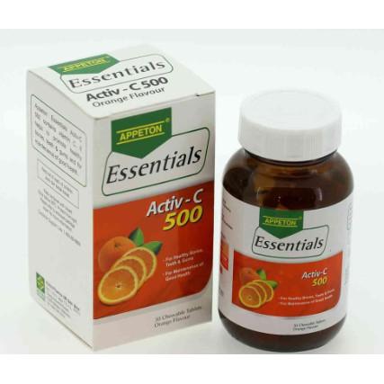 Appeton Activ-C 500 - 30 Tablets