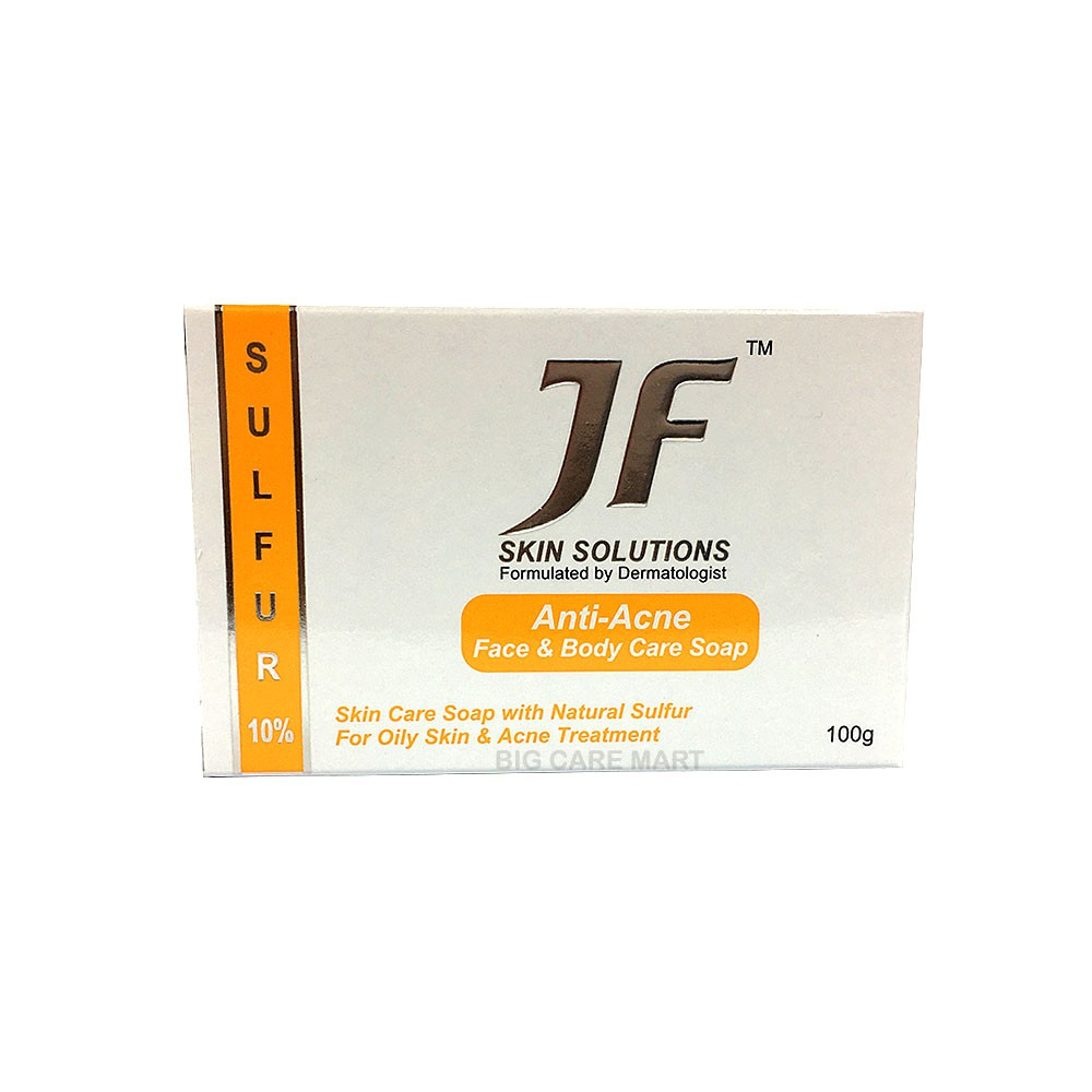 JF Skin Solutions Sulfur 10% Anti-Acne Sulfur Soap X 5pieces