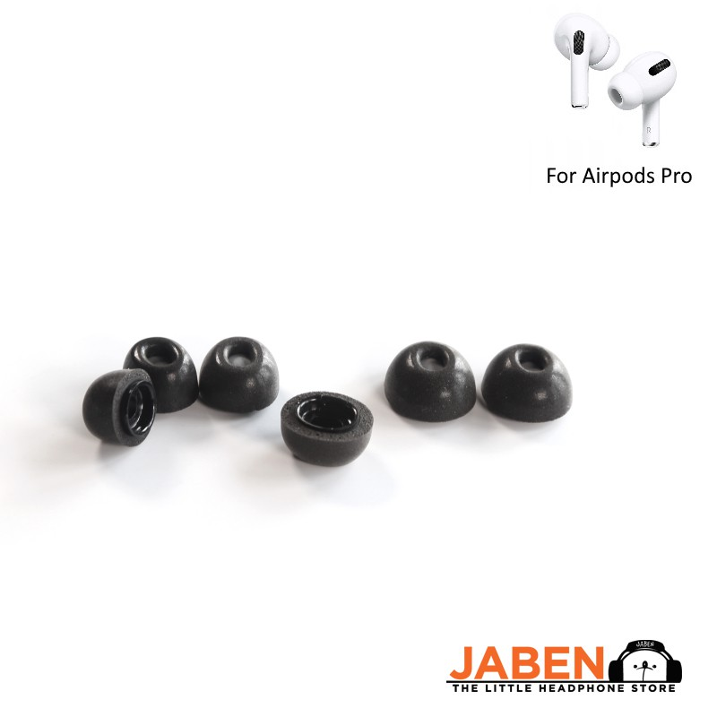 ddHiFi MF01 Replacement Memory Foam Tips for Airpods Pro [Jaben]