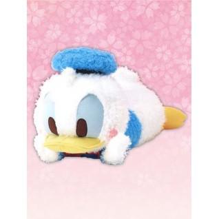 Japanese Disney super soft Plush sleeping baby Donald Duck pink cheek 43cm