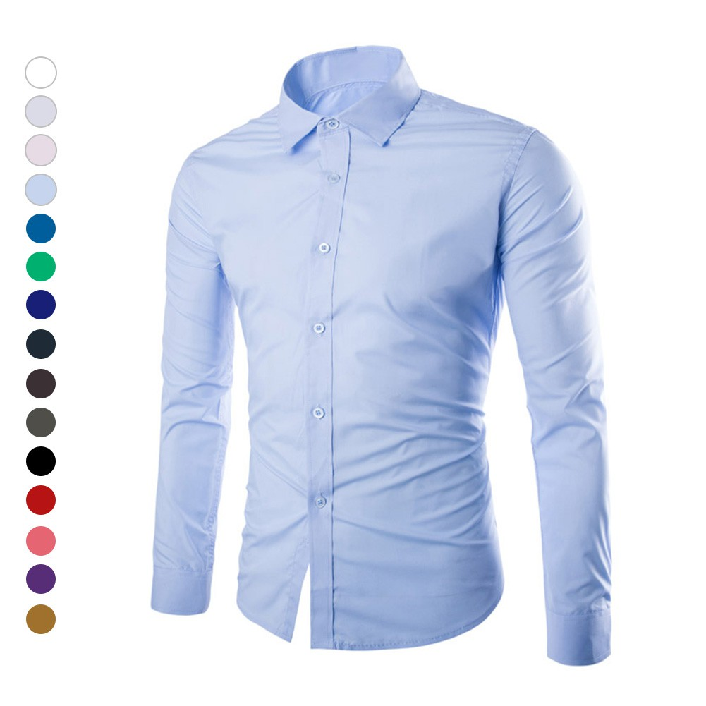 Buy Shirts Online Mens Clothing Shopee Malaysia Tendencies Longshirt Plain Navy Shirt