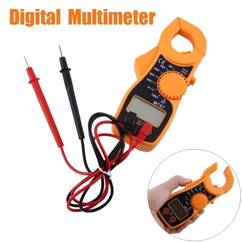 LCD Meter Digital Clamp Multimeter Voltmeter Ammeter Ohmmeter Volt Tester