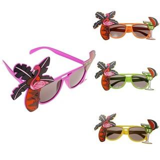 ccf7bd56fa Shopee Accessories Eyewear Eyeglasses Novelty Flamingo Cocktail Hawaiian  Sunglasses Fancy Dress Tropical Beach Glasses. sold out