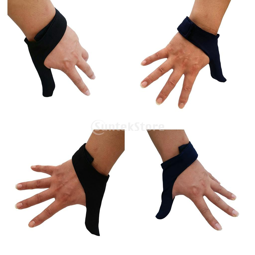 2 Colors Bowling Ball Thumb Saver Right /& Left Hand Grip Protection Gear Glove