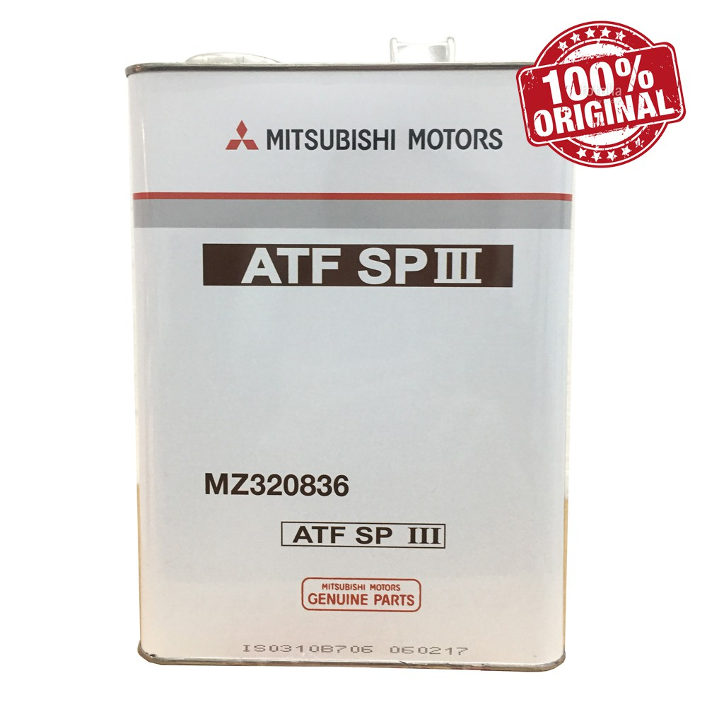 Mitsubishi Genuine ATF SP-3 4L
