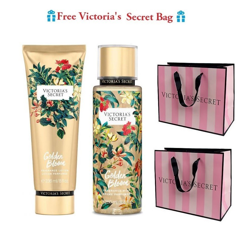 VICTORIA\'S SECRET Limited Edition Wild Flora, Golden Bloom- Lotion set