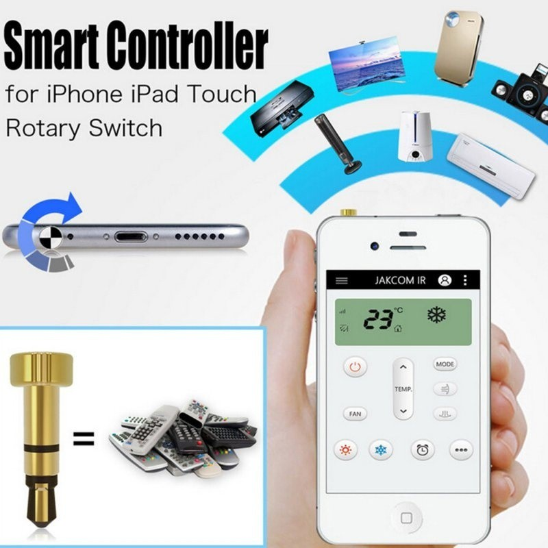Portable Mini Smart IR Remote Control For iphone/ipad/Touch Mobile Phone