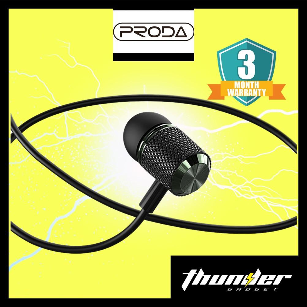 PRODA PD-E600  3.5MM Audio Jack In-Ear Wire Earphone