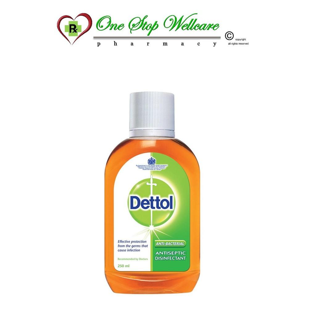 Dettol Antiseptic Germicide Liquid 250ml Shopee Malaysia Antiseptik Cair 100ml