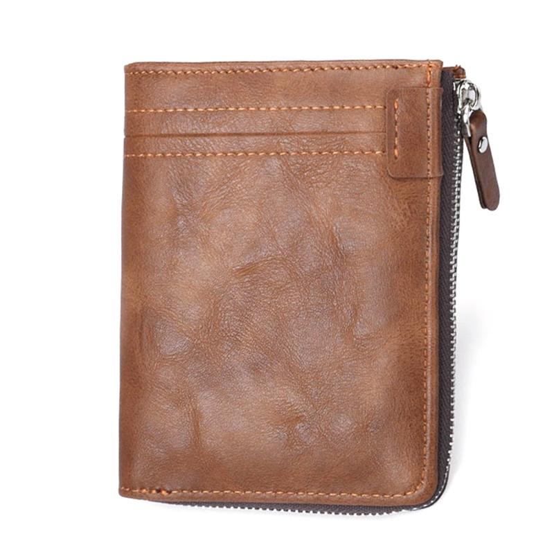 23b15232d3e1 Badiya Business Men Short Pu Leather Wallet Card Holder Casual Hasp Purse