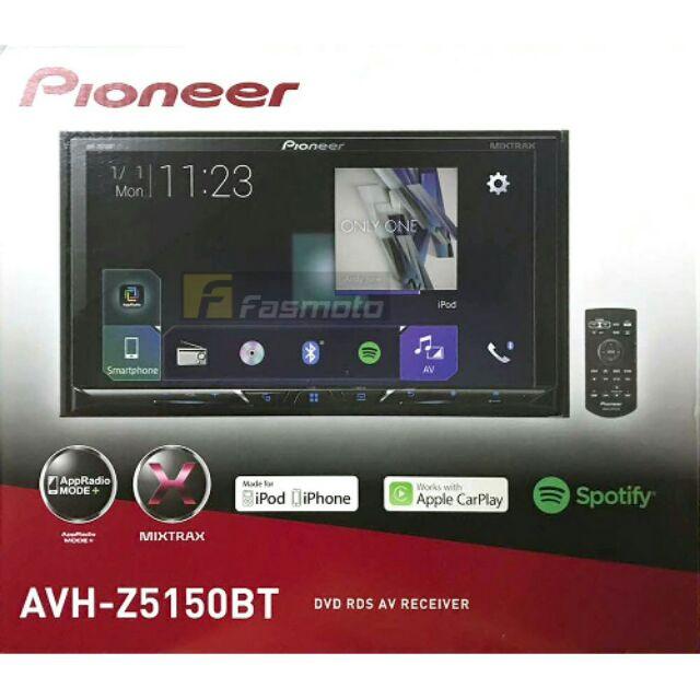 PIONEER Z-SERIES AVH-Z5150BT 7