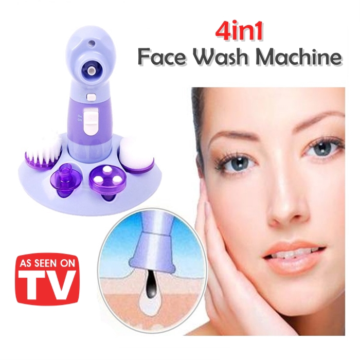 MALAYSIA] 4 DLM 1 SET BERUS CUCI MUKA/ 4 In 1 Face Wash Power Perfect Pore Cleaner
