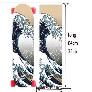 perfk 9 x 33in Skateboards or Longboards Griptape//Grip Tape 1 Sheet