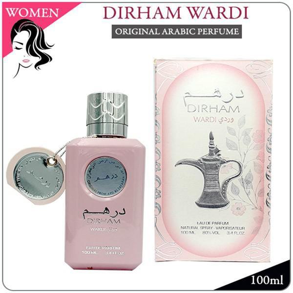 DIRHAM WARDI - ORIGINAL ARABIC PERFUME BY ARD AL ZAAFARAN DUBAI FOR WOMEN FRAGRANCE (READY STOCK)