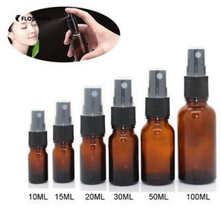 06dc297978d5 HOT】10/15/20/30/50/100ML Empty Amber Glass Essential Oil Mist Spray ...