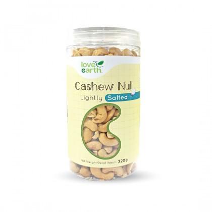 Love Earth Lightly Salted Cashew 天然盐焗腰果 320 公克 (罐装)