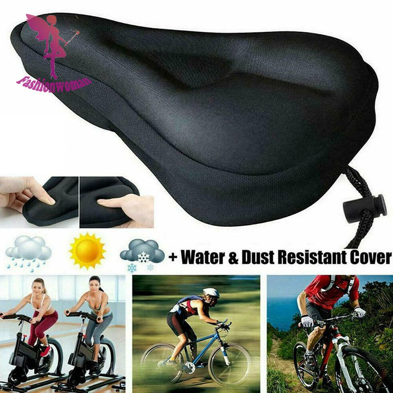 2 Pieces Cycling Mountain Bike Bicycle Breathable Durable Net Saddle Seat Cover
