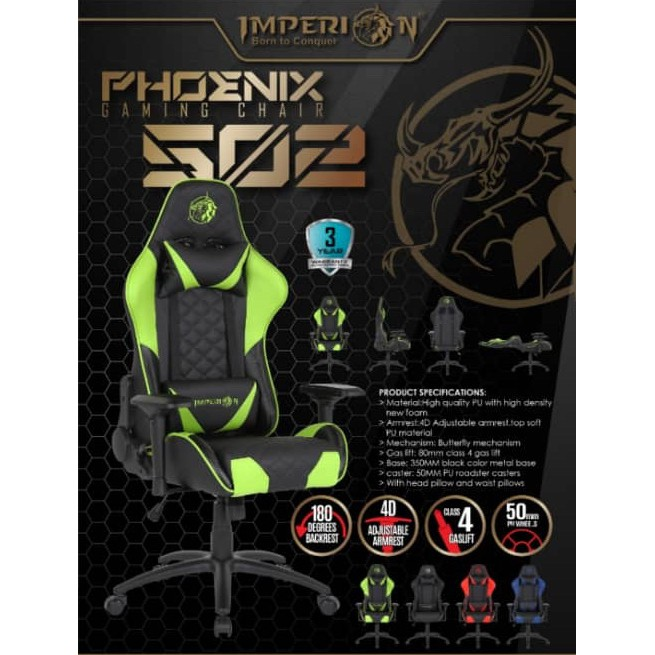 Imperion Gaming Chair Phoenix 502