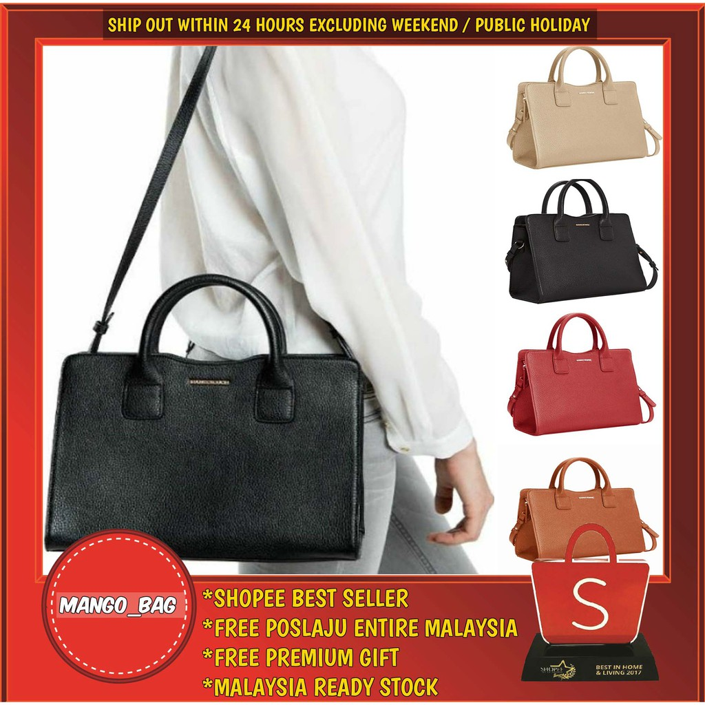 38c1d039 AUTHENTIC COACH LEAH SATCHEL IN CROSSGRAIN LEATHER | Shopee Malaysia