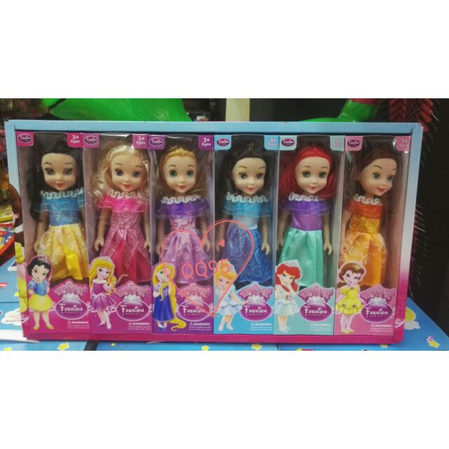 Doll Princess Set 6 In 1 My First Fashion Perfect Shopee Malaysia