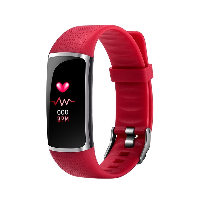 [LOCAL SELLER] SKMEI B32 Heart Rate Color Screen Bracelet Blood Pressure Bluetooth Smart Watch