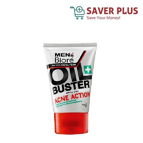 Men's Biore Oil Buster Facial Form 40g