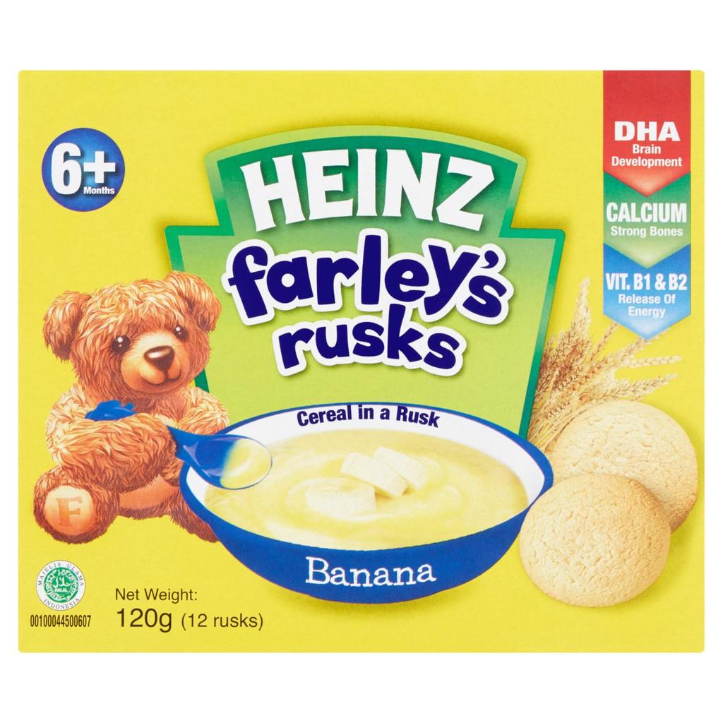 Heinz Farleys Baby Rusk - Banana (120g)