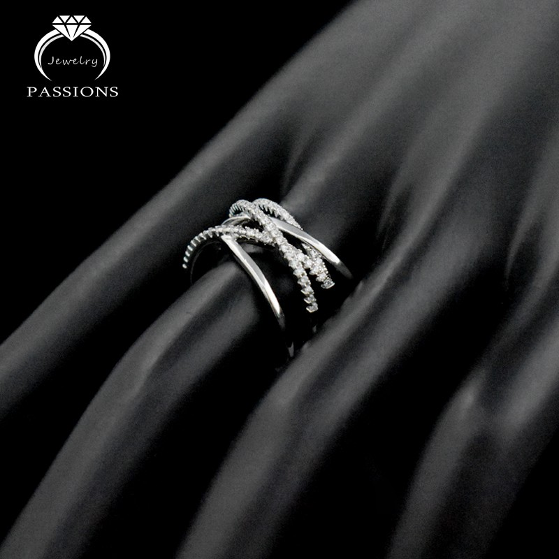 4153a222d New Fashion Silver Plate Open Wide Adjustable Ring Hollow out Multilayers  Ring | Shopee Malaysia