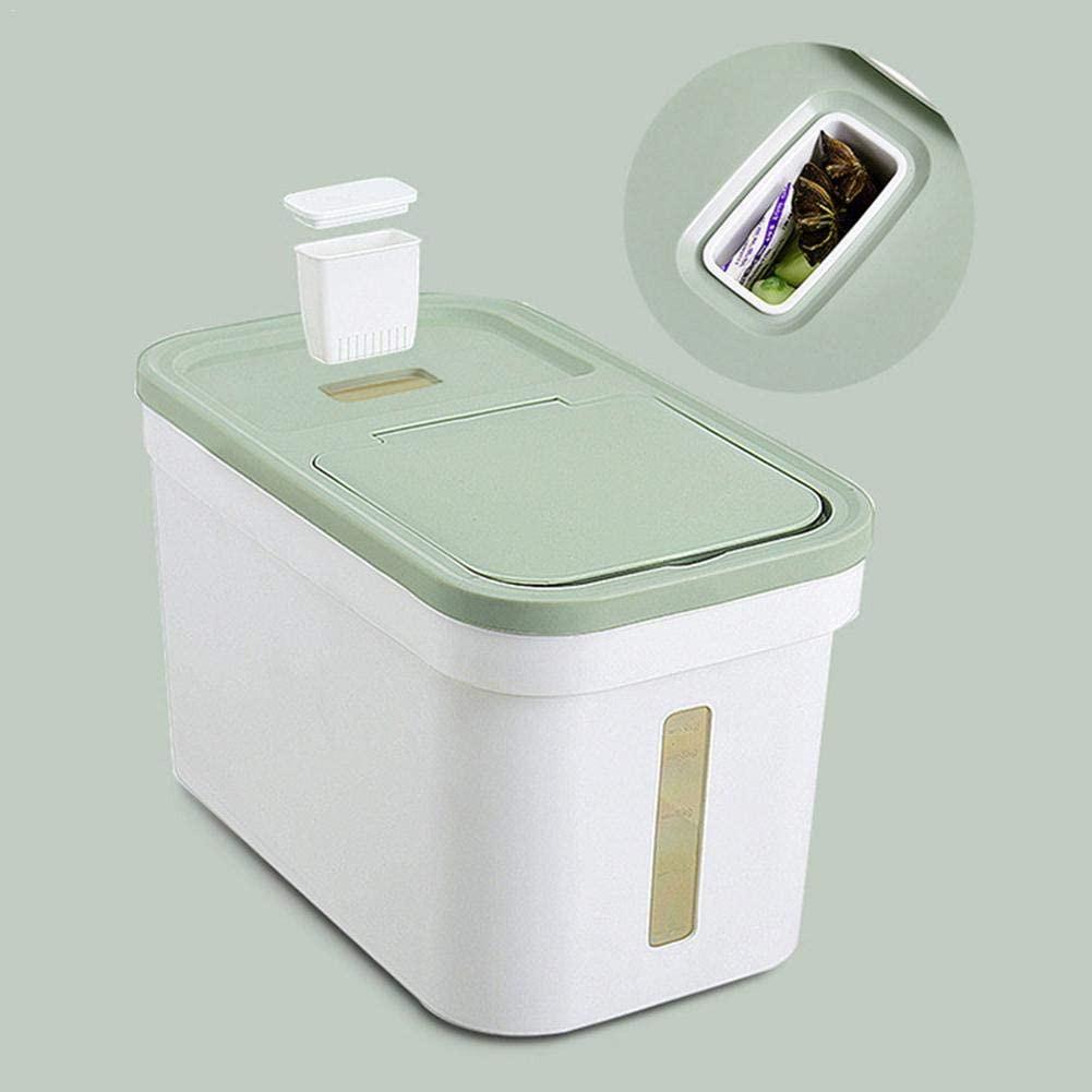 READY STOCK SHP] 20 KG BEKAS BERAS SENANG GUNA/ Rice Barrel 20 Kg Moisture Proof Rice Dispenser Rice Storage Box