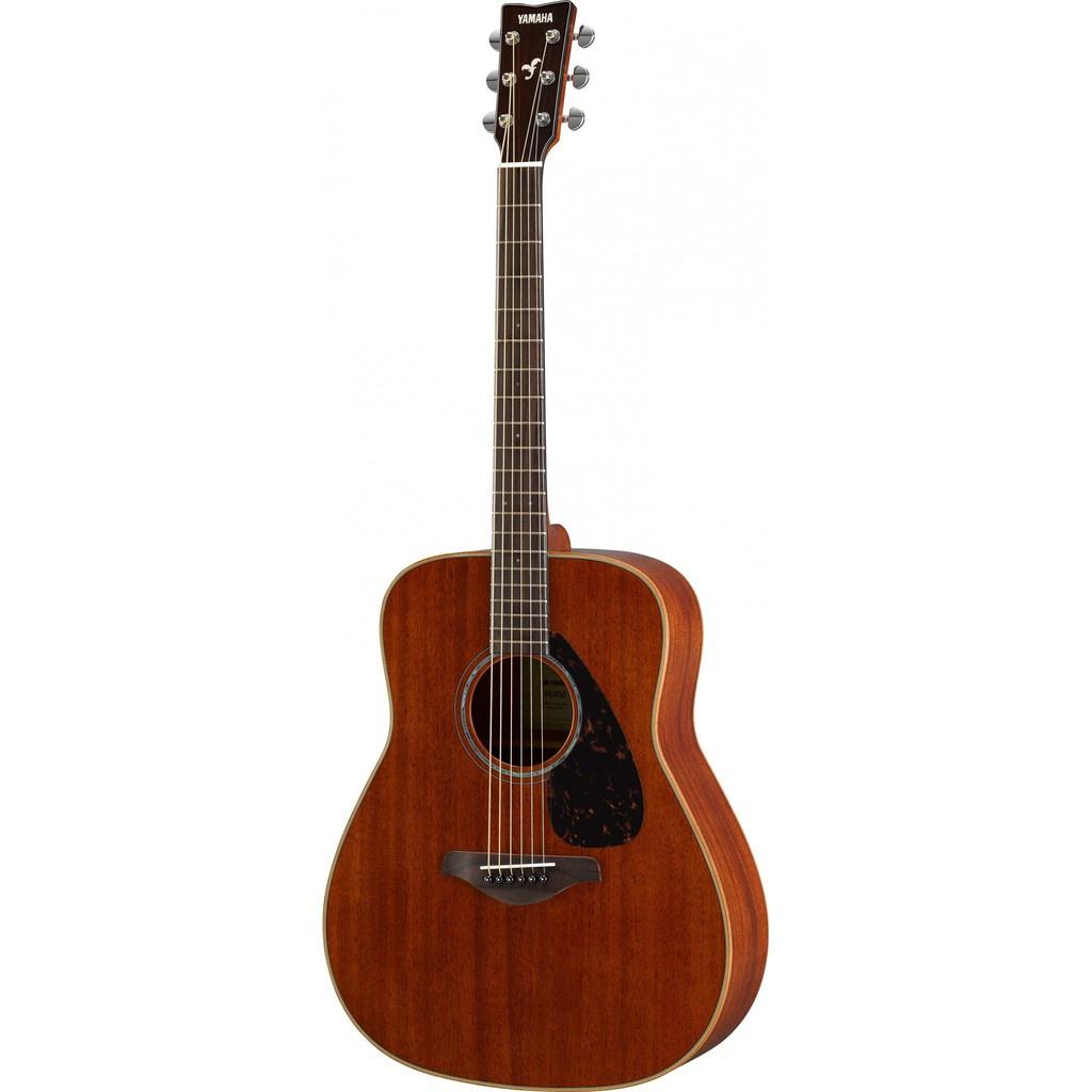 Yamaha FG850 41 Dreadnought Solid Mahogany Top Acoustic Guitar Natural (FG 850)