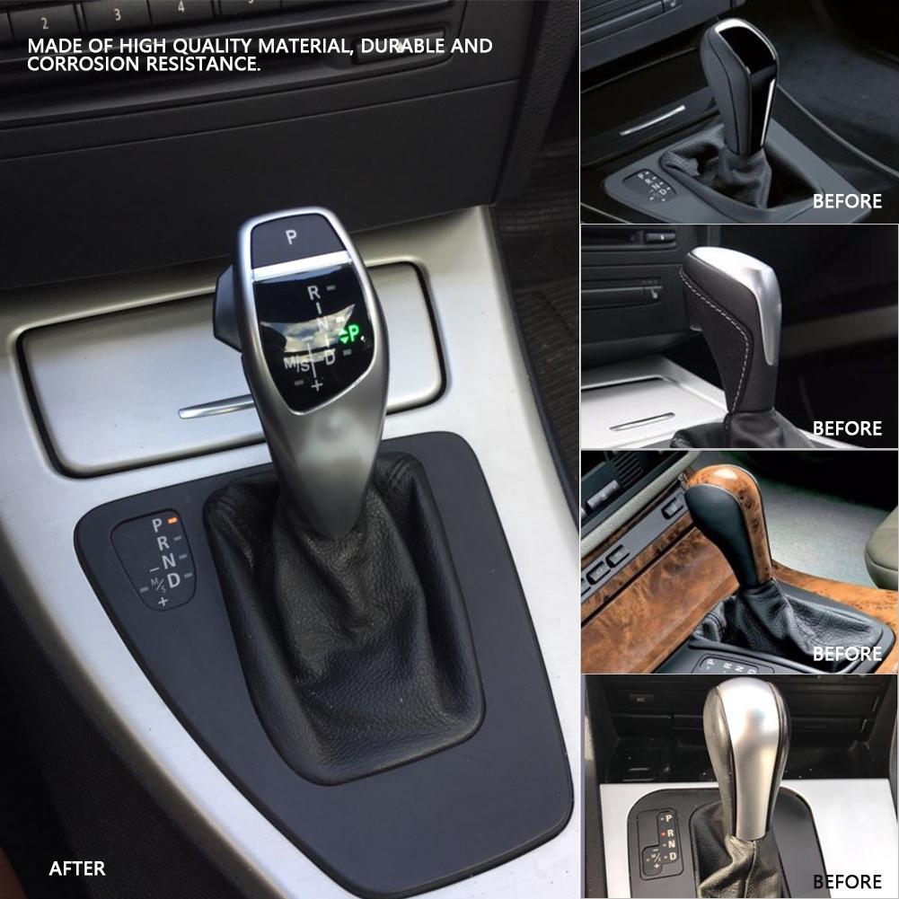 Lhd Automatic Led Gear Shift Knob For Bmw E90 E91 E93 E81 E82 E84 E87 E88 E89