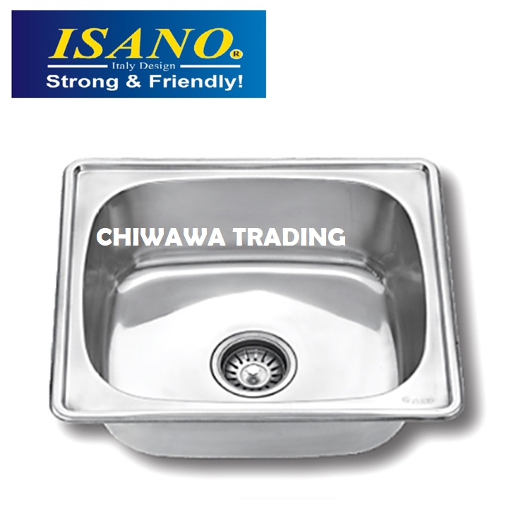 ISANO BS06 Stainless Steel Kitchen Sink Bowl Basin Drainer