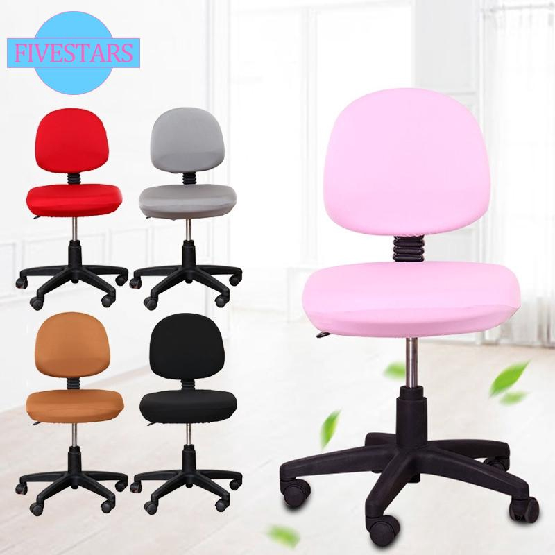 Super Spandex Office Computer Chair Cover Stretchable Rotate Swivel Chair Covers Creativecarmelina Interior Chair Design Creativecarmelinacom