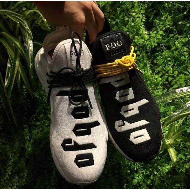 de9ab32d577ec Fear of God FOG x Adidas NMD Pharrell Williams Human Race Sport Sneakers